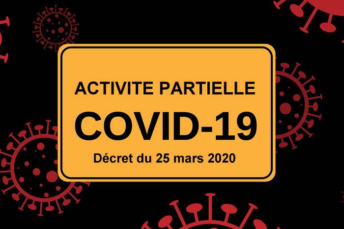 Activité partielle - Décret du 25 mars 2020 Covid-19
