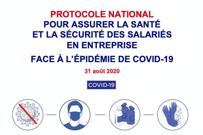 Nouveau protocole sanitaire applicable dans les entreprises à partir du 1er septembre 2020 ?