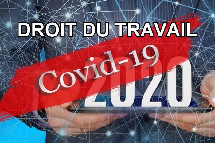 Veille information du travail Covid 19